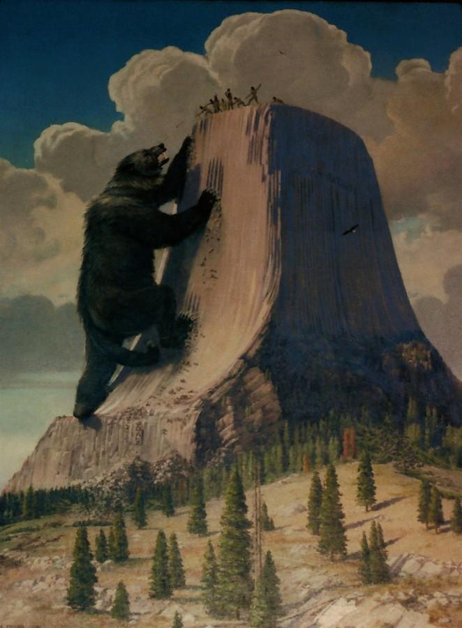 Башня Дьявола — диво чудное
